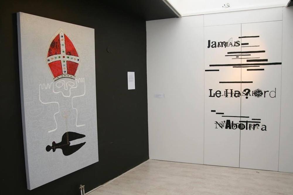 Jamais Le Hassard sanaa installation shot